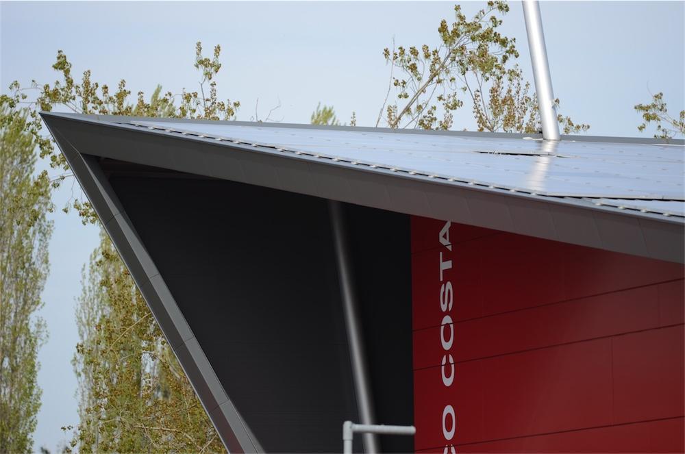 Fotovoltaico sul tetto del Museo Checco Costa, Imola